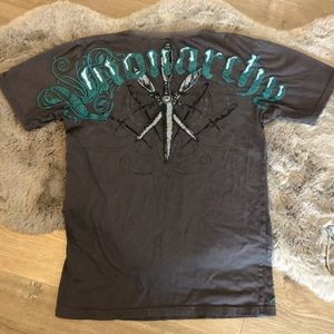 Monarchy Men's Short Sleeve Logo Tee Shirt
